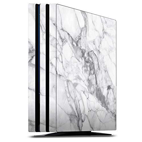 DeinDesign Skin kompatibel mit Sony Playstation 4 PS4 Pro Folie Sticker Stein Marmor Muster
