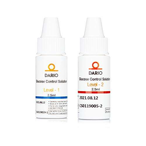 Dario Glucose Control Solutions for Dario Test Strips Testing. Verify The Performance of Your Dario Blood Glucose Test Strips with Dario and Dario LC Blood Glucose Monitoring System.