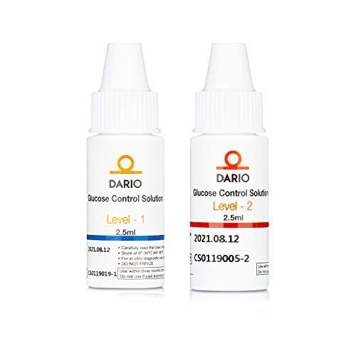 Dario Glucose Control Solutions for Dario Test Strips...
