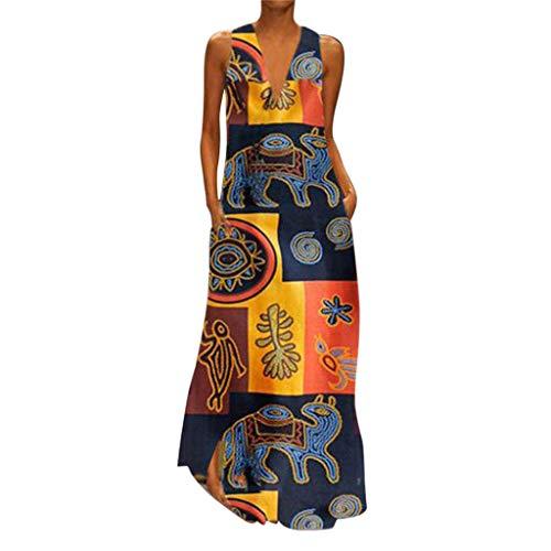Auifor Vestido Uranus venca Vestidos Ver de Mujer vestído Ajustado Amarillo años 60 Vestido años Mujer Arras niña Asimetrico Azul Claro Largo Bandage Bebe