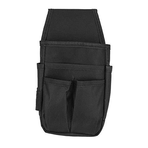 Elektriker Werkzeugtasche 600D Polyester Werkzeug Taillentasche Tasche Kleine Gürteltasche Werkzeugtasche mit verstellbarem Gürtel Mehrere Taschen Hardware-Werkzeugtasche