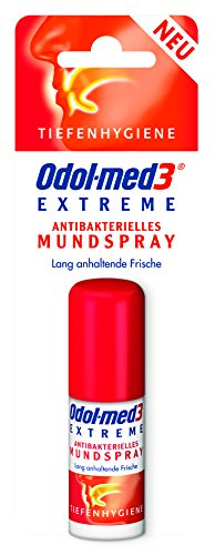 Odol-med 3 Mundspray Extreme Blister, 5er Pack (5 x 15 ml)