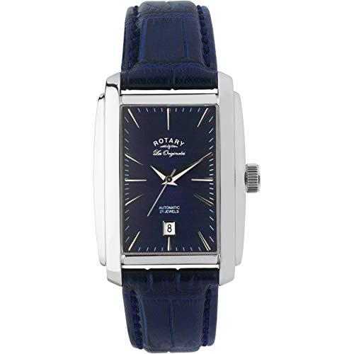 Rotary Herren Automatik Uhr Mit Leder Armband LE90012/05