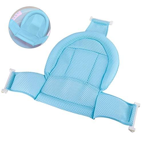 Leepesx Red de baño para bebé Red de Soporte para baño Bañera Ajustable con Honda Asiento de baño para bebé Transpirable Malla de Ducha Antideslizante