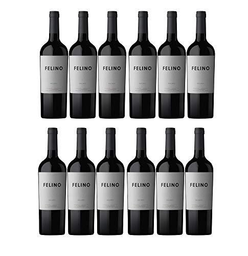 Vina Cobos Felino Malbec Mendoza Rotwein argentinischer Wein trocken Argentinien (12 Flaschen)
