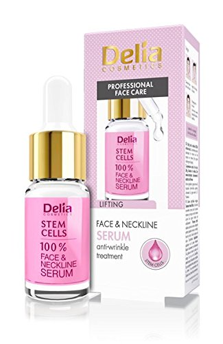Delia–Staminali anti-winkle & lifting trattamento intensivo per tutti i tipi di pelle–100% di siero viso e collo–senza parabeni