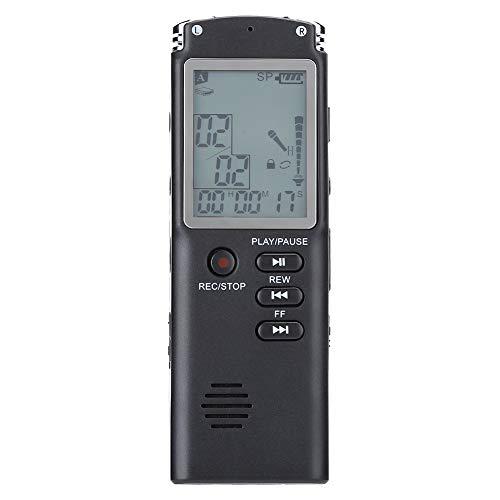 Grabador de Sonido USB Audio Grabador de Voz USB Profesional, bolígrafo de grabación, ABS iOS XP Vista de 8GB / 16GB / 32GB para 2000(8GB)