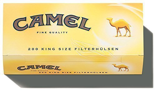Camel King Size - Casquillos de Cigarrillos (200 Unidades, 1 x 200)
