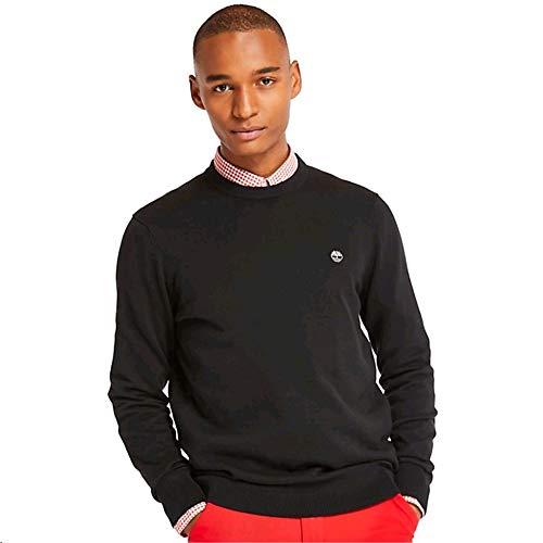 Timberland Williams River Crew suéter, Negro (Black 001), XX-Large para Hombre