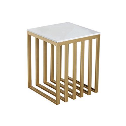 BZ-ZK SZQ marmer-gemeenschaptafel, creatieve woonkamer-gouden ijzeren tafel, meerdere zijhoeken een paar bijzettafel-decoratie-sofa-tafel prachtig handwerk