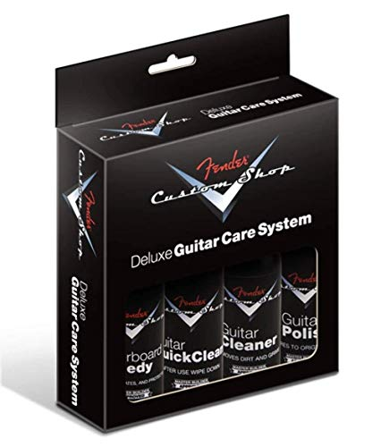 Fender Custom Shop Deluxe Guitar Care Kit · Limpieza guitarra/bajo