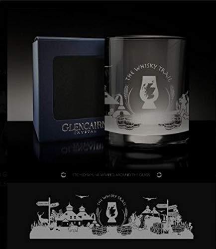 Glencairn The Whisky Trail Skyline Whisky Spirit Verre Verre de présentation 11 oz