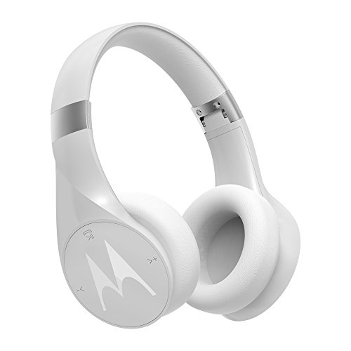 motorola Pulse Escape + Auriculares inalámbricos de Diadema, Color Blanco