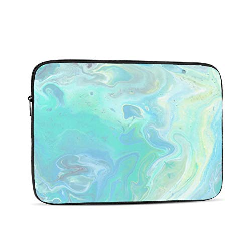 3D Printed Beautiful Marble 15 Laptop Sleeve Case,13 Inch Laptop Bag for Women, Liner Bag for Lenovo Notebook