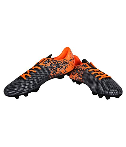 Nivia Premier Carbonite Orange Football Studs - UK 10