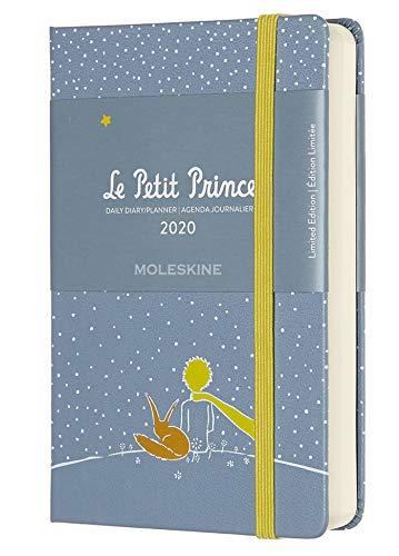 Moleskine Agenda Gionaliera 12 Mesi 2020 Il Piccolo Principe Special Edition Volpe con Copertina Rigida e Chiusura ad Elastico, Dimensione Pocket 9 x 14 cm, 400 Pagine