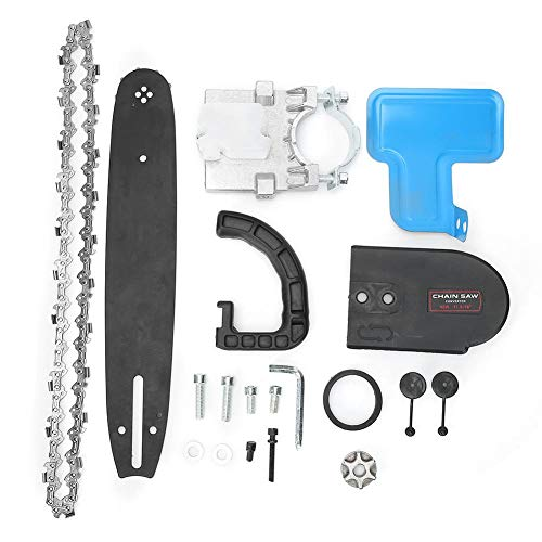 Motosierra eléctrica - adaptador de soporte de sierra de cadena amoladora angular...