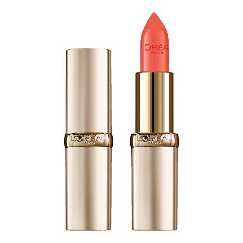 L'Oréal Paris Color Riche 230 Coral Showroom, farbintensiver Lippenstift mit pflegenden Ölen, cremige Textur für maximalen Lippenkomfort