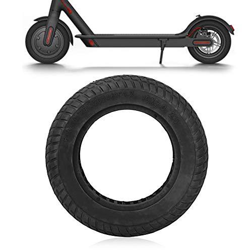 Bnineteenteam 10-Zoll-Ersatzreifen explosionssicherer schlauchloser Reifen für Elektrofahrrad (klein) (Schwarz (klein))