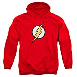 Popfunk The Flash Pull-Over Hoodie Sweatshirt & Stickers (Large) Red