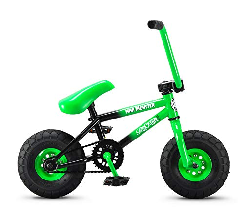 Cheapest Prices! Rocker BMX Mini BMX Bike iROK+ Mini Monster Green RKR