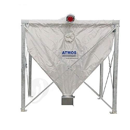 Atmos Pelletsilo 3,8 m³ RH 2,0 m Pelletlager Textilsilo Sacksilo Textilspeicher