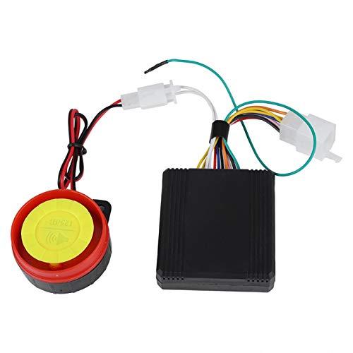 Alarma de Seguridad de bocina de Alto decibelio, Sistema de Alarma de Motocicleta, Alarma de Seguridad antirrobo antirrobo para Motocicleta