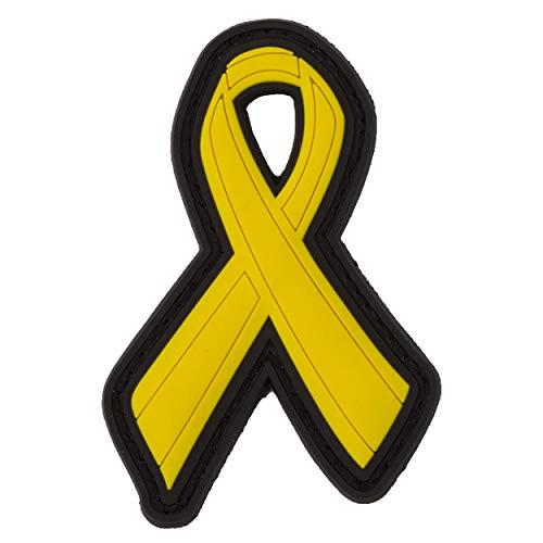 TACOPSGEAR Yellow Ribbon Schleife Support Soldaten Soldier 3D Rubber Patch