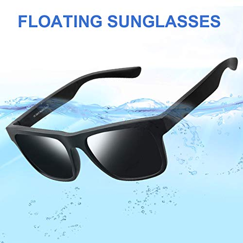 Avoalre Floating Sports Sunglasses, 100% UV Protection Impact Resistance Sports Glasses for Men Women Driving Running Climbing Outdoor Activities Unbreakable Lightweight Tr90 Frame