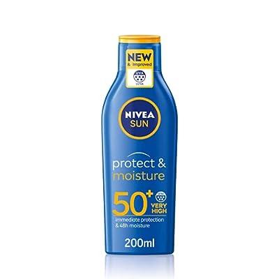 NIVEA SUN Protect & Moisture Sun Lotion SPF 30 (50 ml), NIVEA Sunscreen SPF 30 Advanced Protection, Sun Lotion Factor 30, NIVEA Sun Cream SPF 30 from Nivea