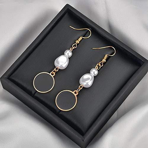 Collar Preciosos Pendientes De Perlas De Imitación para Mujeres Pendientes De Gota De Abeja En Forma De Lágrima En Forma De Corazón Pendientes De Joyería Regalos Accesorios