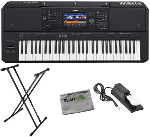 Buy Discount Yamaha PSR-SX700 Digital Arranger Workstation w/Cloth, Stand, and Pedal