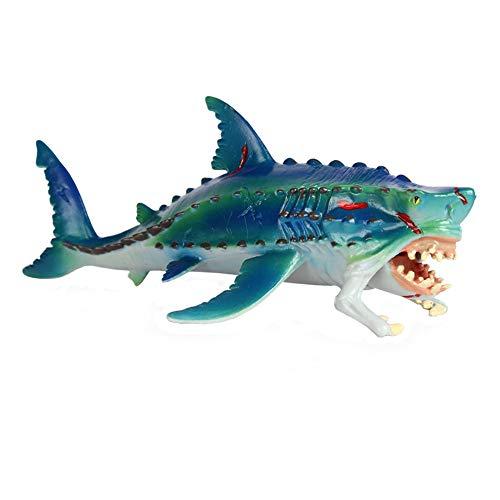 JOKFEICE Realistico Figure di Animali Mostro Pesce di Mare Giocattolo Animale, Progetto di Scienza, Cake Topper, Primi Giocattoli Educativi di Compleanno Regalo di Natale per I Bambini