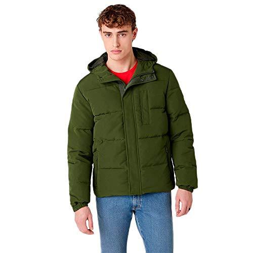 Wrangler The Bodyguard Chaqueta, verde grisáceo, XL para Hombre