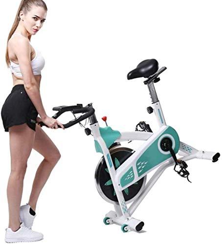 LMZZGAOYANQING Bicicleta estática, Bicicleta de Ciclismo de Interior estacionaria, Entrenamiento Cardiovascular, Inicio Máquinas de Ciclismo Sensores de frecuencia cardíaca
