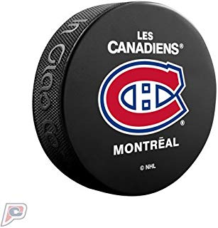 Montreal Canadiens Basic Collectors NHL Hockey Puck French
