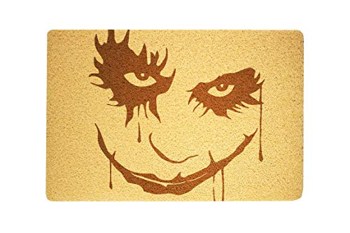 StarlingShop Felpudo Joker con diseño de Soldados de Asalto y Texto en inglés Welcome