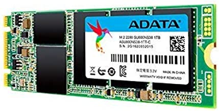 ADATA SU800 1TB M.2 2280 SATA 3D NAND Internal SSD (ASU800NS38-1TT-C)