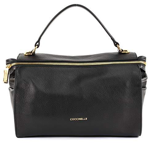 Coccinelle Tasche ATSUKO Damen Leder Schwarz - E1DHA180101001