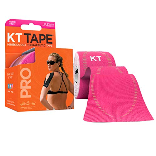 KT Tape Pro Kinesiology Therapeutic Sports Tape , Hero Pink