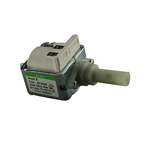 Ulka EP5GW Pompe électrique ignifuge compatible avec machine à café 230 V 48 W 15 bar
