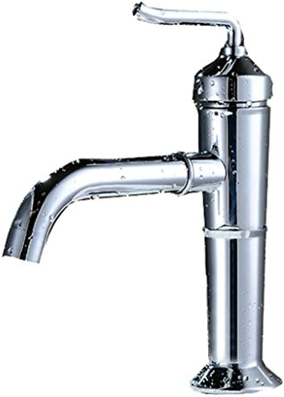 JFFFFWI Outlet 360-Grad-Drehhahn Kupfer Hot and Cold Kitchen Sink Sink Durchmesser 32 mm bis 40 mm installiert Werden kann