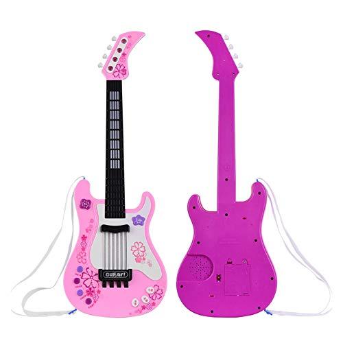DIY Componentes guitarra Cuerpo Juguete de la guitarra eléctrica del instrumento con...