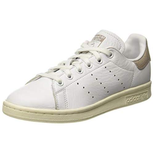 adidas Stan Smith W, Scarpe da Fitness Donna, Bianco (Ftwbla/Ftwbla/Grivap 000), 36 EU