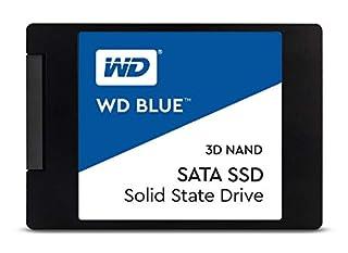 "Western Digital 2TB WD Blue 3D NAND Internal PC SSD - SATA III 6 Gb/s, 2.5""/7mm, Up to 560 MB/s - WDS200T2B0A (B073SBRHH6) | Amazon price tracker / tracking, Amazon price history charts, Amazon price watches, Amazon price drop alerts"