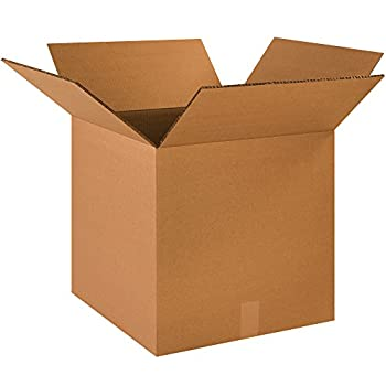 Boxes Fast Double Wall Corrugated Heavy-Duty Cardboard Boxes 18 x 18 x 18 for Shipping Packing and Moving Protection Kraft  Pack of 10