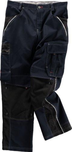 Beb Bund-Hose Arbeits-Hose INFLAME - blue shadow/schwarz - Größe: 56