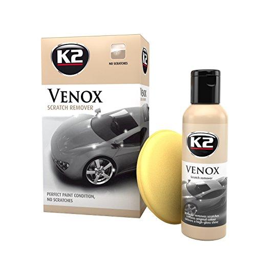 K2 Venox Lot de lait, Premium Formular de polissage 180 g + éponge, DE meilleurs Résultats