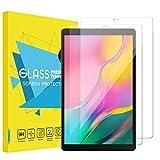 MoKo [2 Stück Screen Protector Kompatibel mit Galaxy Tab A T510/T515 10.1 Tablet - HD 9H Panzerglas Glas Folie Bildschirmschutz Bildschirmschutzfolie - Transparent