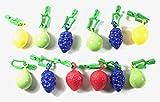 Haus&Garten 12 Stück Tischtuchbeschwerer Obst Tischtuchbommeln Tischtuchgewichte Tischtuchhalter